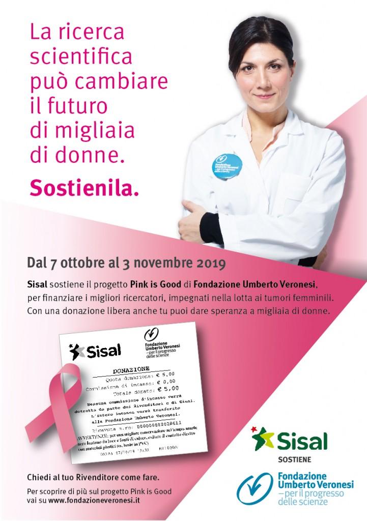 Locandina Sisal_Fondazione Veronesi