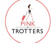 Logo pink trotters