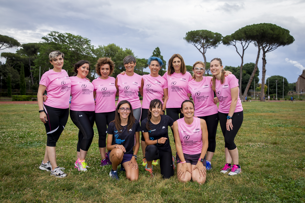 Pink is Good Running Team Roma
